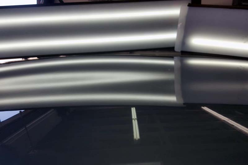 Paintless Dent Repair by Wilmette Auto Body from Hail Damage After Image