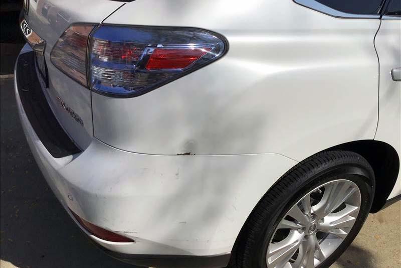 Wilmette Auto Body Collision Repair Before Picture
